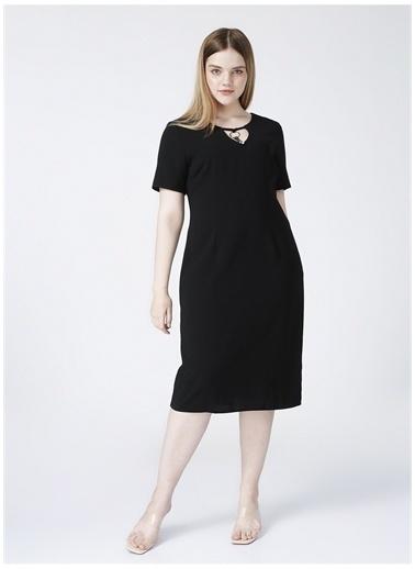 Selen Selen Elbise Siyah